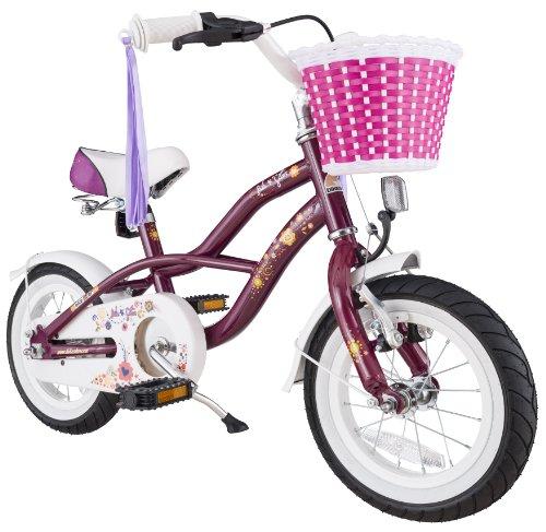 bike star 12 zoll kinder fahrrad cruiser lila. Black Bedroom Furniture Sets. Home Design Ideas