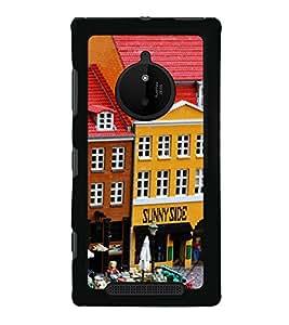 Cartoon Restaurant 2D Hard Polycarbonate Designer Back Case Cover for Nokia Lumia 830 :: Nokia Lumia 830 RM-984