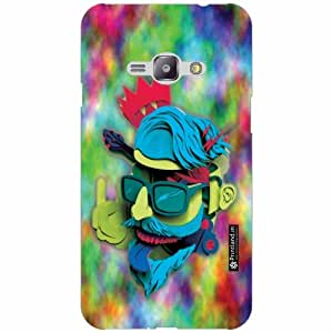 Printland Back Cover For Samsung Galaxy J1 Ace - Silicon Neon Designer Cases