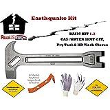 Earthquake 3 Pc Kit 1.2 - On Duty Emergency Gas & Water Shutoff 4-n-1 Tool - Earthquakes