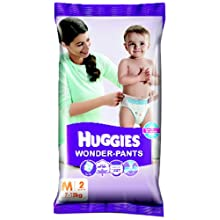 Huggies Wonder Pants Medium Size Diapers (2 Count)
