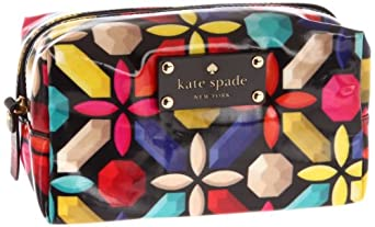 Kate Spade New York Daycation-Davie  Cosmetic Case,Kaleiscope Gem,One Size
