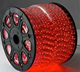 RED 12 Volts DC LED Rope Lights Auto Lighting 9 Meters(29.5 Feet)