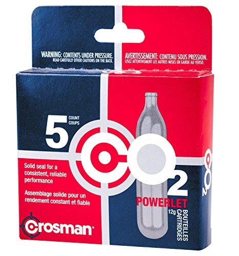 Crosman 5 Count 12g Powerlet CO2 cartridges
