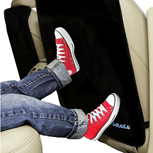 Premium-Kick-Mats-2-Pack-Luxury-Car-Seat-Back-Protectors-Best-For-Protection-From-Kids-Dirt-Scuffs-Scratches-Easy-To-Install-Clean-Top-Quality-Extra-Large-Size-Fits-Cars-Trucks-SUVs