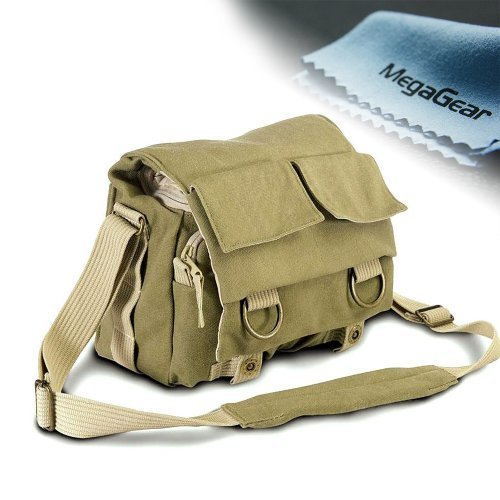 MegaGear DSLR Camera Case Bag Army Green for