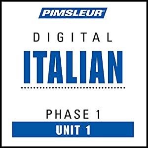 Italian Phase 1, Unit 01 Audiobook