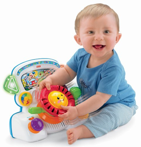 Fisher Price Laugh & Learn Rumble & Learn Driver - 1