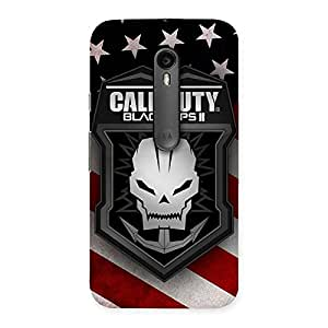 Gorgeous Duty Calling Back Case Cover for Moto G Turbo