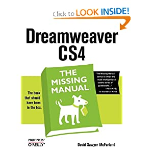 Dreamweaver CS4: The Missing Manual David Sawyer Mcfarland