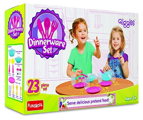 Giggles Dinnerware Set, Multi Color