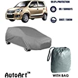Autowheel Premium Heavy Duty Car Body Cover For New Maruti Wagonr With Storage Bag Free