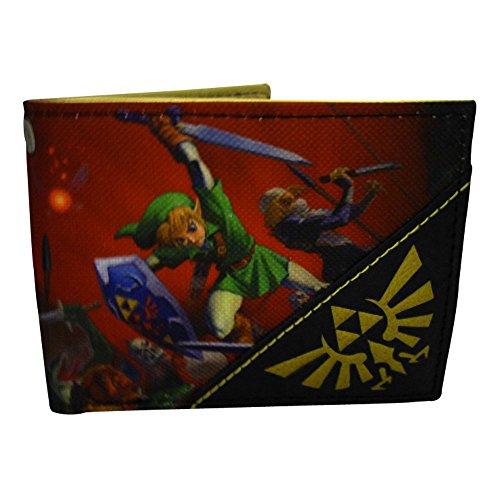 Legend of Zelda Porta carte di credito, nero (Rosso) - MW1XJ0ZOT