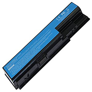 Super-Capacity Li-ion Battery For Acer Aspire 5520 5720 5920 6920 6920G 7520 7720 7720G 7720Z series replace for AS07B31 AS07B41 AS07B42 AS07B72 CONIS72 series Ac Laptop Notebook Main Battery [ 4400mAh 6 Cells]