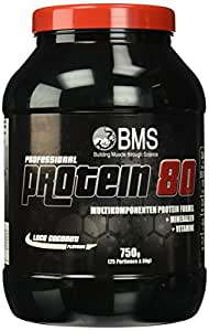 BMS Professional Protein 80 Cocos, 1er Pack (1 x 750 g)