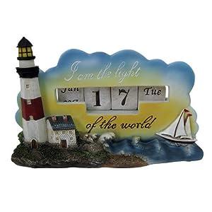 Nautical Lighthouse Desk Calendar