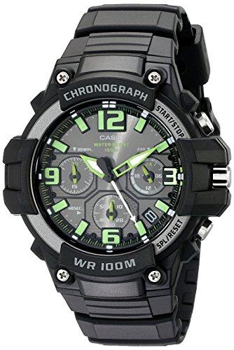 casio s mcw 100h 3avcf heavy duty design chronograph