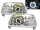 CrazyTheGod Grand Vitara XL-7 Escudo CCFL Projector Headlight Headlamp Chrome for SUZUKI