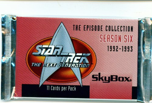 Star Trek The Next Generation Season 6 Trading Card Pack - 1