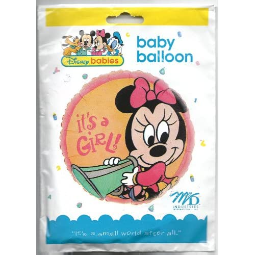 Amazon.com: It's a Girl Minnie Mouse Balloon (1ct)