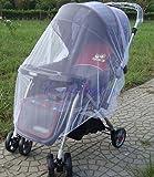 Moskitonetz für Kinderwagen, Weiß