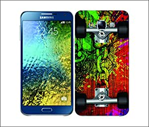 Galaxy Printed 2800 SkateBoards Splash Hard Cover for Samsung A5