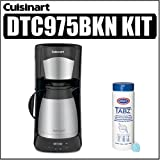 Cuisinart DTC-975BKN 12 Cup Programable Thermal Coffeemaker Bundle