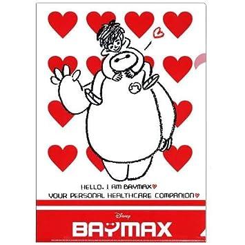Big Hero 6 Stationary Clear File crayon AIG1349 Disney Baymax A4 character Japan
