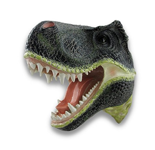Life-like Wall Mounted Tyrannosaurus Rex Head Statue Trophy Head