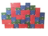 Mondo Bloxx 40 Piece Brick Block Set USA Made (Assorted Sizes)