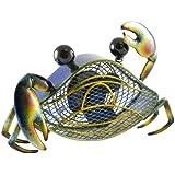 Deco Breeze Figurine Fan, Blue Crab