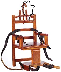 """Doll House Miniature Electric Chair """"Old Sparky"""""""