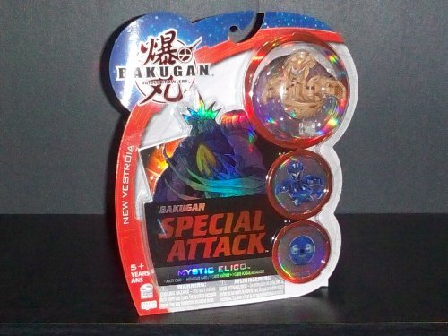Bakugan Battle Brawlers New Vestroia Bakugan Special Attack Subterra Mystic Elico (Dice Thrower) 200G, 400G, 550G, 650G, 710G, 810G on Dice - 1