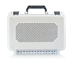 AudioActiv VAULT XL Waterproof, Shockproof Hard Cover Travel Case for Jawbone BIG JAMBOX Bluetooth Speaker (White)