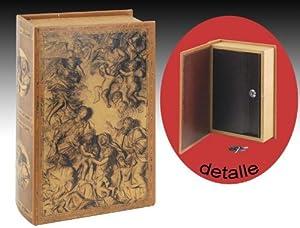 coffre fort en forme de livre anges 7x27x18 cm cuisine maison. Black Bedroom Furniture Sets. Home Design Ideas