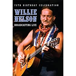 Willie Nelson Broadcasting Live