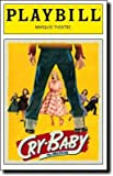 Brand New Color Playbill from Cry-Baby The Musical starring James Snyder Elizabeth Stanley Harriet Harris Christopher J. Hanke