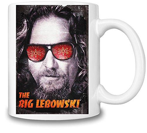 The Big Lebowski The Dude Tazza Coffee Mug Ceramic Coffee Tea Beverage Kitchen Mugs By Slick Stuff