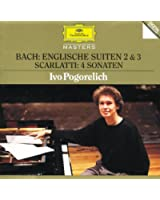 Bach, J.S.: English Suites No.2 & 3 / Scarlatti: 4 Sonatas