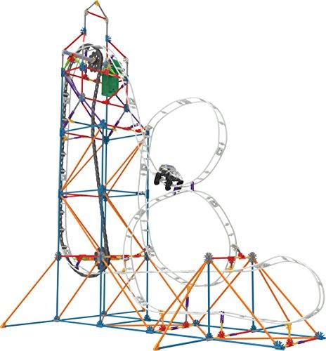 K'NEX - Looping Light-Up Roller Coaster Building Set (448 Pieces)