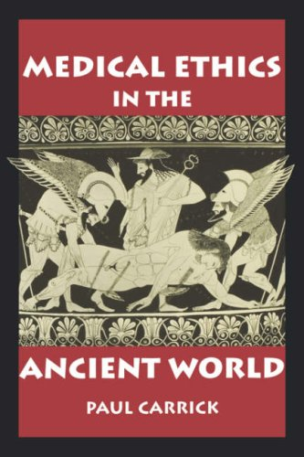 Medical ethics in the ancient world book cover