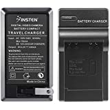 Insten® Compact Battery Charger Set Compatible with Samsung© SLB-10A / 11A