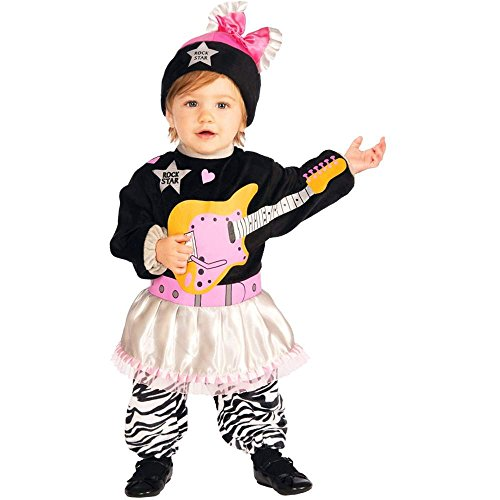 Lil 80s Rock Star Girl Baby Costume - Infant