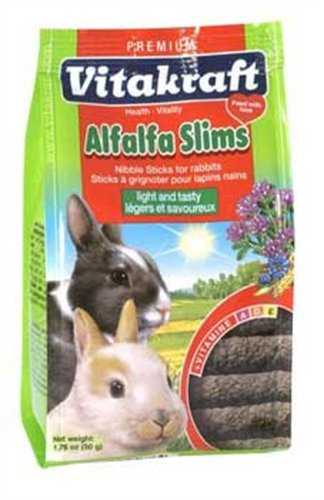 Vitakraft Rabbit Slims 50g (Flavour: Alfalfa)