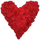 5x100-rote-Rosenbltter-Stoff-rot-insgesamt-500-Stck-Hochzeitsdeko-Valentinstag-Heiratsantrag-Romantisch-Candlelightdinner-Streudeko-Basteln