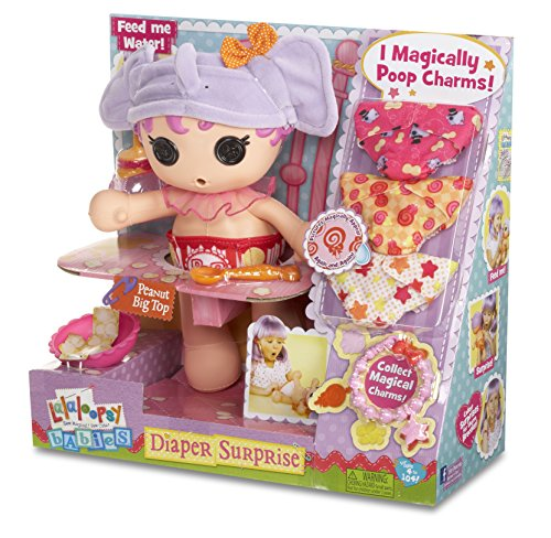 Lalaloopsy Babies Diaper Surprise Peanut Big Top Doll (Wet Head Hat compare prices)