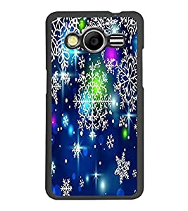 PrintDhaba Pattern D-2081 Back Case Cover for SAMSUNG GALAXY CORE 2 G355H (Multi-Coloured)