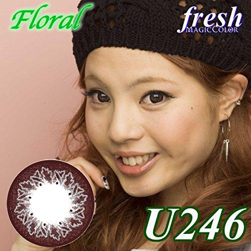 MAGICCOLOR (マジックカラー) fresh U246 度なし 14.0mm 1ヵ月使用 2枚入り