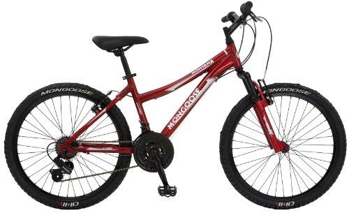 Mongoose Montana Girls' Mountain Bike (24-Inch Wheels)