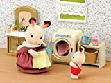 Sylvanian-Families-3565-Mini-Poupe-Set-Machine--Laver